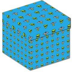 Alien Pattern Storage Stool 12