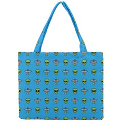 Alien Pattern Mini Tote Bag