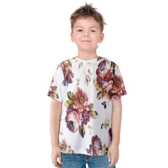 Texture Pattern Fabric Design Kids  Cotton Tee