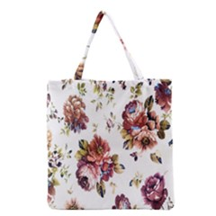Texture Pattern Fabric Design Grocery Tote Bag