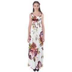Texture Pattern Fabric Design Empire Waist Maxi Dress