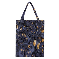 Monster Cover Pattern Classic Tote Bag