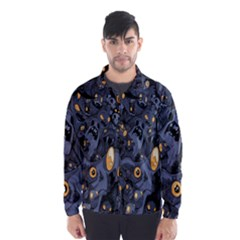 Monster Cover Pattern Wind Breaker (men)