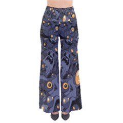 Monster Cover Pattern Pants
