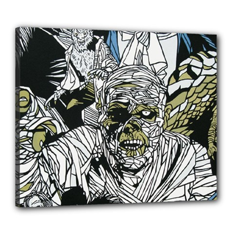 The Monster Squad Canvas 24  x 20
