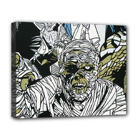 The Monster Squad Deluxe Canvas 20  X 16