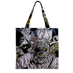 The Monster Squad Zipper Grocery Tote Bag