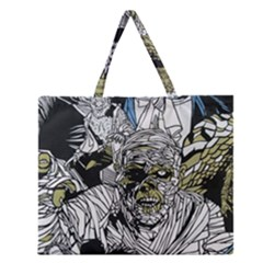 The Monster Squad Zipper Large Tote Bag