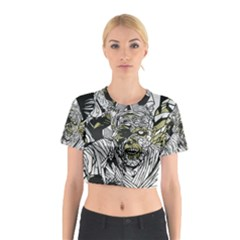The Monster Squad Cotton Crop Top