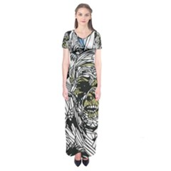 The Monster Squad Short Sleeve Maxi Dress
