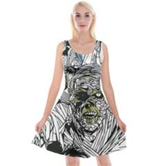 The Monster Squad Reversible Velvet Sleeveless Dress