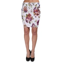 Texture Pattern Fabric Design Bodycon Skirt