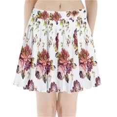 Texture Pattern Fabric Design Pleated Mini Skirt