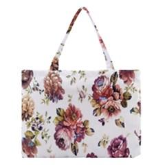 Texture Pattern Fabric Design Medium Tote Bag