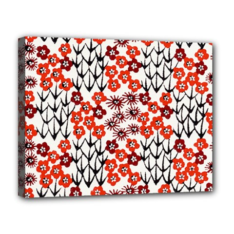Simple Japanese Patterns Canvas 14  X 11