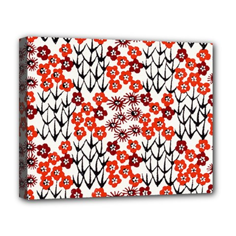 Simple Japanese Patterns Deluxe Canvas 20  x 16