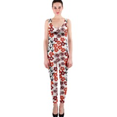 Simple Japanese Patterns OnePiece Catsuit