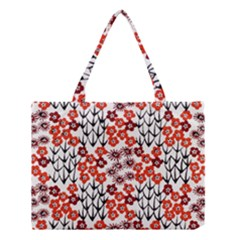 Simple Japanese Patterns Medium Tote Bag