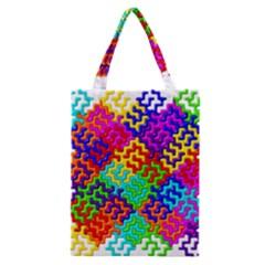 3d Fsm Tessellation Pattern Classic Tote Bag