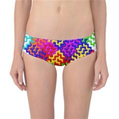 3d Fsm Tessellation Pattern Classic Bikini Bottoms