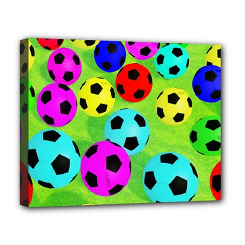 Balls Colors Deluxe Canvas 20  X 16