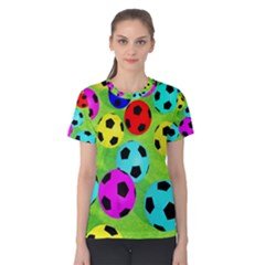 Balls Colors Women s Cotton Tee