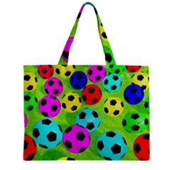 Balls Colors Zipper Mini Tote Bag