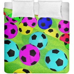Balls Colors Duvet Cover Double Side (king Size)