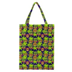 Smiley Monster Classic Tote Bag