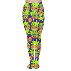 Smiley Monster Women s Tights