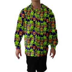 Smiley Monster Hooded Wind Breaker (Kids)