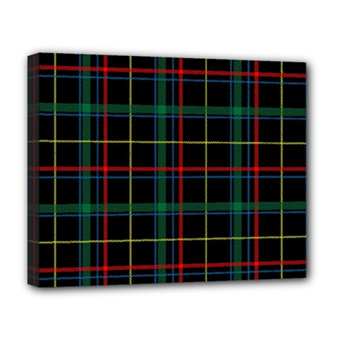 Tartan Plaid Pattern Deluxe Canvas 20  x 16