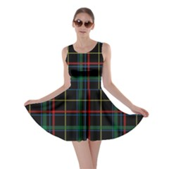 Tartan Plaid Pattern Skater Dress