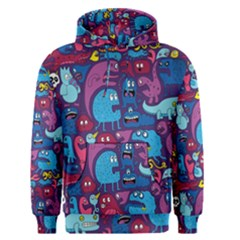 Hipster Pattern Animals And Tokyo Men s Pullover Hoodie