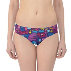 Hipster Pattern Animals And Tokyo Hipster Bikini Bottoms
