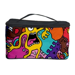 Monster Patterns Cosmetic Storage Case
