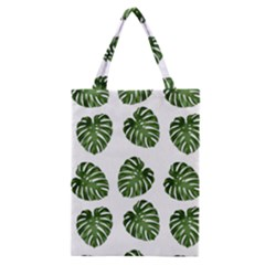 Leaf Pattern Seamless Background Classic Tote Bag