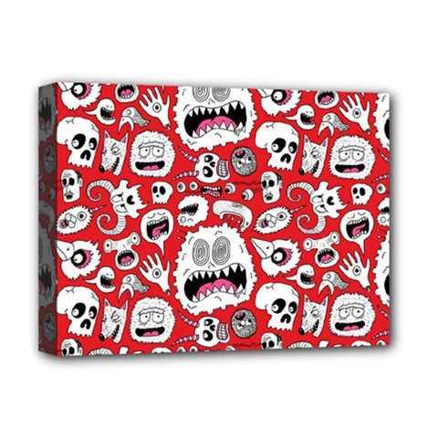 Another Monster Pattern Deluxe Canvas 16  X 12