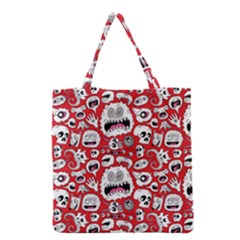 Another Monster Pattern Grocery Tote Bag