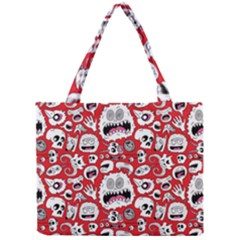 Another Monster Pattern Mini Tote Bag