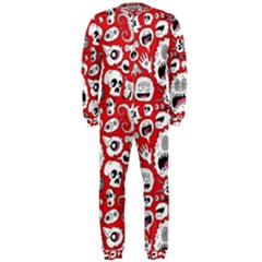 Another Monster Pattern Onepiece Jumpsuit (men)