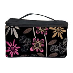 Flower Art Pattern Cosmetic Storage Case