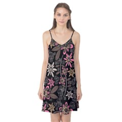 Flower Art Pattern Camis Nightgown