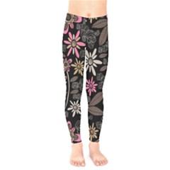 Flower Art Pattern Kids  Legging