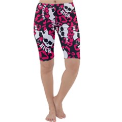 Mattel Monster Pattern Cropped Leggings