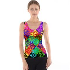 3d Fsm Tessellation Pattern Tank Top