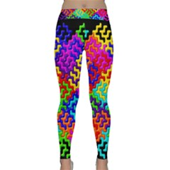 3d Fsm Tessellation Pattern Classic Yoga Leggings