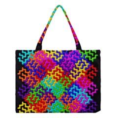 3d Fsm Tessellation Pattern Medium Tote Bag