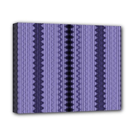 Zig Zag Repeat Pattern Canvas 10  X 8