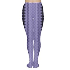 Zig Zag Repeat Pattern Women s Tights